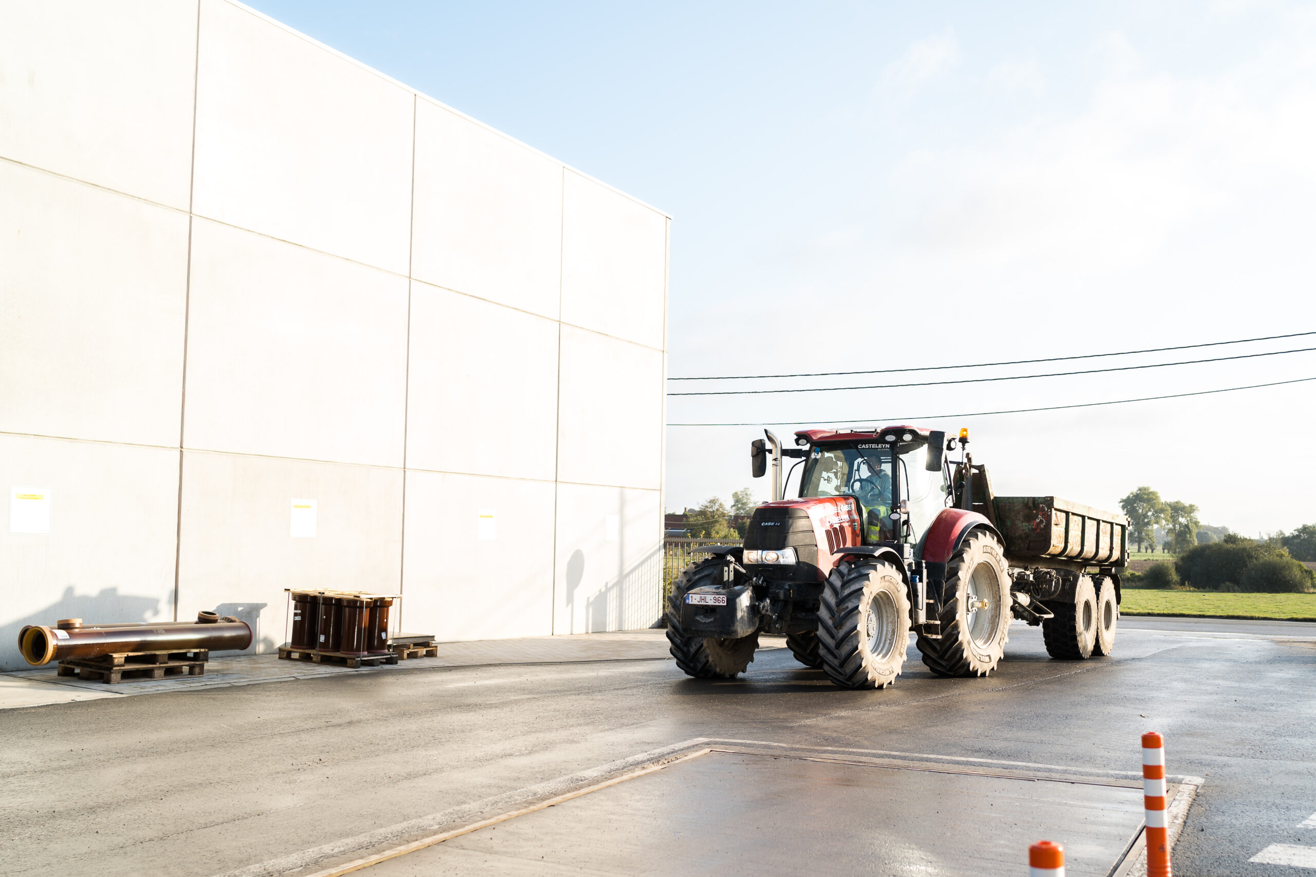 Vacature Chauffeur CE tractor